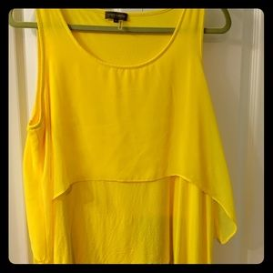 Vince Camuto yellow tank, Large